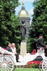 South Bend Wedding Carriage Rides, an elegant limo alternative